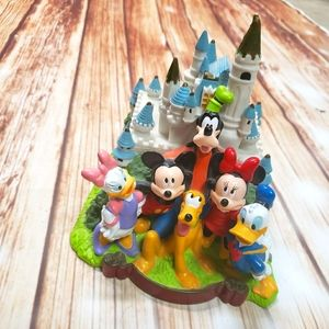 Disney Disneyland Vinyl Plastic Piggy Bank Mickey